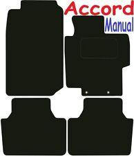 Esteras De Coche De Calidad De Lujo Para Honda Accord Manual 03-08 ** adaptado para Perfecto Fi