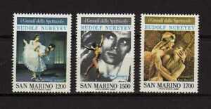 14330) San Marino 1989 MNH Nureyev