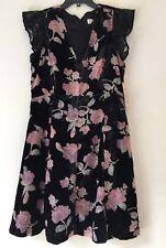 Nanette nanette Lepore Burnout Velvet Lace-Combo Dress. Size 12. $169.00.