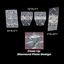 79-04 MUSTANG 5 SPD MANUAL DIAMOND PLATE RACING PEDALS