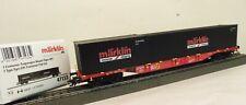 """Märklin H0 47133 Container-Tragwagen Sgns DB AG """"Store Wagen 2020""""   L41"""