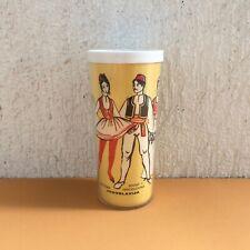 Vintage Plastic Cup With Folk Costumes Of Ex Yugoslavian Republics