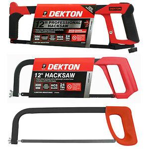"Dekton 12"" 300mm Professional Hacksaw Rapid change Heavy duty 90 or 45 Degree"