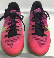 Nike Kobe XI 11 Elite Low Mambacurial men's Sz 7.5 Green/Pink 836183-635 Bryant