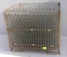 Gabbione/Contenitori ripieghevole metallico per bottiglie di vino