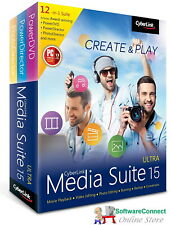 CyberLink Media Suite 15 Ultra - The Most Complete Collection of Award-winning M