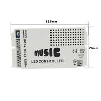 24Keys LED RGB Wireless Controller DC12V Music Remote for 3528 5050 LED Lights