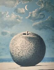René Magritte, Souvenirs from travel 1962-63, Hand Signed Lithograph 200/200
