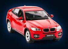 BMW X6 XDRIVE 5.0i 2008 rot offen 1:24 Rastar NEU Modellauto 41500 red open