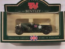 LLEDO DG46 000 1930 BENTLEY 4.5LTR - BRITISH RACING GREEN - TV TIMES #36