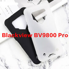 Ultra Thin Black Transparent Soft Silicone TPU Case For Blackview BV9800 Pro