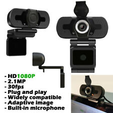 More details for 1080p autofocus hd webcam camera with microphone for pc desktop computer usb 2.0