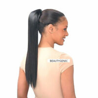 Freetress Equal Drawstring Ponytail Yaky Straight 18 Inches Hair Extension Long