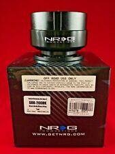 NRG STEERING WHEEL QUICK RELEASE 2.0 BLACK BODY BLACK RING  SRK-200BK