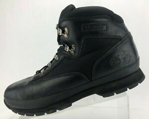 Timberland Ankle Boots Black Comfort All Terrain Trail Hiking Shoes Mens US 9