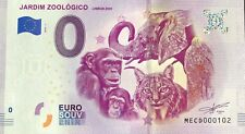 BILLET 0 EURO JARDIM ZOOLOGICO LISBON ZOO PORTUGAL 2019-3  N°  DIVERS