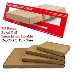 C4 C5 C6 SIZE POSTAL BOX ROYAL MAIL LARGE LETTER POSTAL CARDBOARD MAILING BOX