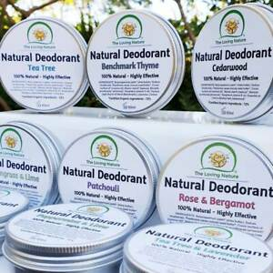 Natural Vegan Deodorant, Organic Ingredients, Effective, Safe | PLASTIC FREE