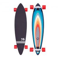 "Z-Flex Surfskate Surf-a-gogo Pintail Longboard 38"", Multicoloured"
