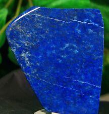 Lapis lazuli Slab Crystal Lapidary rock/Slab  Smooth Polished natural gem stone