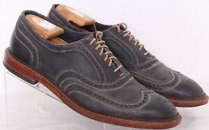 Allen Edmonds Neumok Black Brogue Wingtip Dress Oxford Shoes Men's US 11.5D