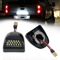 LED Kennzeichenbeleuchtung Set für Chevrolet Silverado 1500 2500 3500 Avalanche