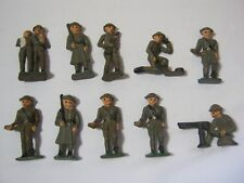 Vintage Toy Soldiers Lot of 10    T*