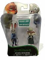 Judy Hopps & May Bellwether Action Figures Dawn Zootropolis New Box Disney
