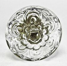 8 Glass Cabinet Knobs Fancy Drawer Pulls Chest Drawer Handle Hardware #K104-2NDS