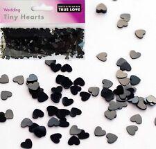 Tiny Black Hearts Confetti-Wedding-Hen Party-Confetti