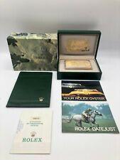 Rolex Genuine Datejust 68273 watch box case 68.00.2 Garantie Booklet.. 0529004
