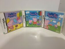 Peppa Pig fun and games & Peppa Pig The game Nintendo DS, Dsi 3DS 2ds Genuine
