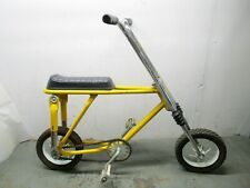 Vintage retro AMF Baja 3 mini dirt bike childs kid youth yellow 1970s