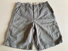 Boys Gap Kids green cotton shorts, adjustable waist, 12 years