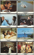 LIVE AND LET DIE  (1973) ORIGINAL SET OF 8 LOBBY CARDS REISSUED IN 1984