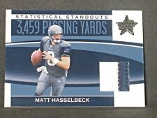 Matt Hasselbeck 2006 Leaf Rookies Stars 2 Color Patch (09/25) Seattle Seahawks