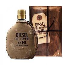 DIESEL FUEL FOR LIFE POUR HOMME EAU DE TOILETTE Spray 2.6 Oz / 75 ml BRAND NEW