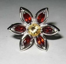 Natural Citrine Sterling Silver Fine Jewellery