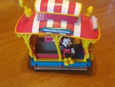 MICKEY AND MINNIE MOUSE DISNEY PULL BACK JOLLY TROLLEY TOONTOWN CAR