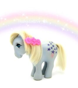 ⭐️ My Little Pony ⭐️ G1 Nirvana Italian Airbrushed Eyes Blue Belle (TLC)
