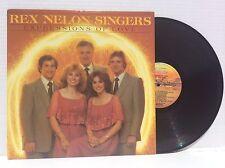 The REX NELON SINGERS Expressions of Love 1980 vinyl LP Janet Paschal 1980 NM