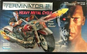 Kenner Terminator 2 Heavy Metal Cycle Figure 1991's hard to find Rare