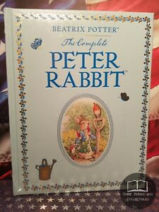 NEW SEALED The Complete Peter Rabbit by Beatrix Potter Bonded Leather Edition