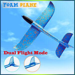 Light Foam Hand Throw Airplane Launch Glider Flying Plane Kids Toy Best Gift