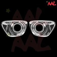 AAL for 2011 2012 2013 2014 JEEP COMPASS CHROME FRONT FOG LAMP light COVER