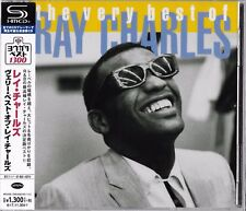 THE VERY BEST OF RAY CHARLES JAPAN 2017 RMST SHM HIGH FIDELITY FORMAT CD