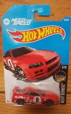 Hot Wheels 2016 NIGHTBURNERZ 3/10 NISSAN SKYLINE GT-R (R34) 83/250 (A+/A-)
