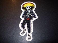"""Pearl Jam Sticker Eddie Vedder Muerto Halloween 4"""" tour concert merch gig cd lp"""