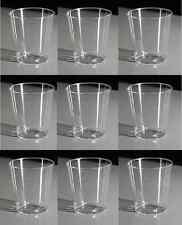72 x 20ml Clear Plastic Disposable Vodka Jelly Shot Glass Glasses KCC5A