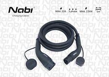 Ladekabel für Elektroautos/EV charging cabel 5m/T2-T2/3 phase/max.32A/max.22 kW